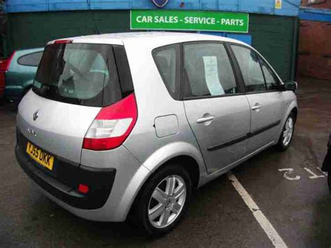 renault scenic mpv 1 6 isofix one owner 8 service sts mot oct 2015