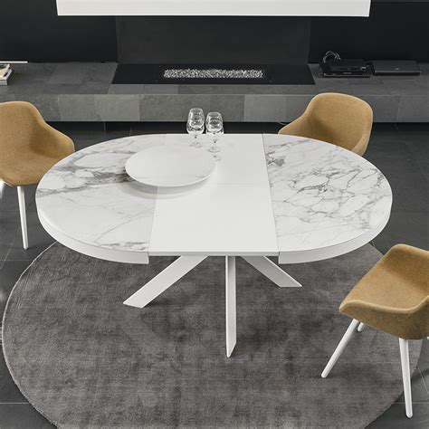 Calligaris Tivoli Round Extending Dining Table  Ceramic Top. Stronghand Table. Legs For Desk. Pool Table Installation. Dish Drawer. Tall Secretary Desk With Hutch. Sauder Heritage Hill Desk. Tata Docomo Bill Desk. Blue Table Runner