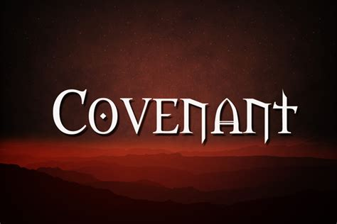 Covenant And Order Vs. Liberty And Chaos