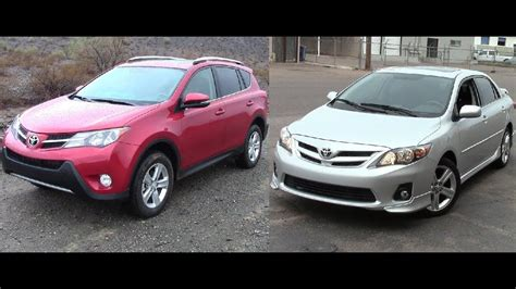 economical vehicles toyota rav  toyota corolla youtube
