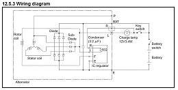 Hitachi Alternator Wiring Diagram by Hitachi Yanmar Alternator Machine Sensed Or Battery