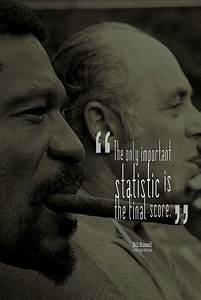 17 Best Famous ... Bill Russell Basketball Quotes