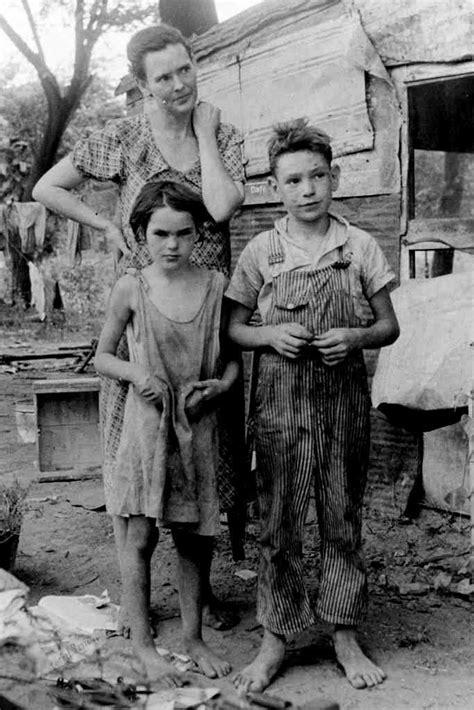 great depression unidentified depression family