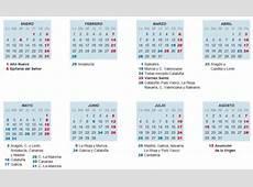 El calendario laboral de 2016 tiene ocho días festivos en