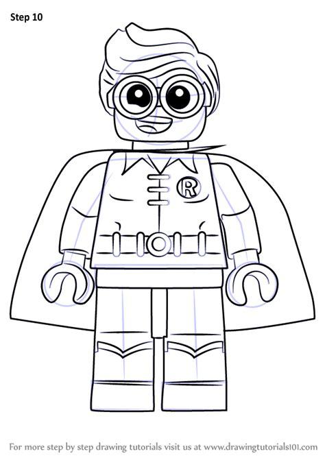 learn   draw robin   lego batman