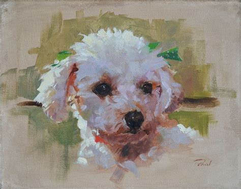 Patrick Saunders Fine Arts Dog Portrait Painting Oil