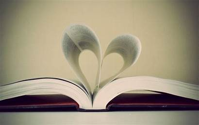 Heart Sheet Books Backgrounds Wallpapers Romantic Hearts