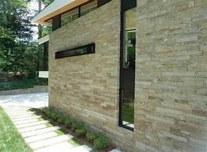 Pierre De Parement Exterieur : pierre de parement ext rieur pour une fa ade moderne ~ Premium-room.com Idées de Décoration