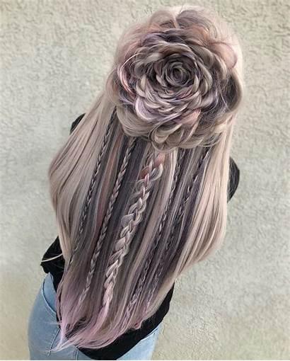 Hairstyles Braided Amazing Hair Medium Special Flower