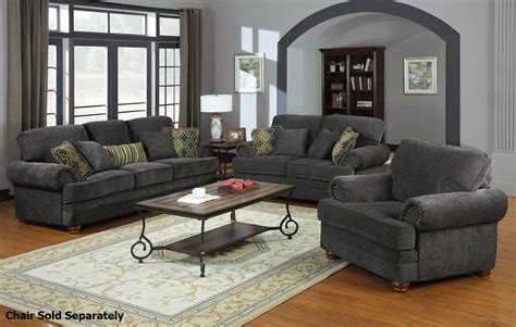 sofa loveseat set colton grey fabric sofa and loveseat set a sofa