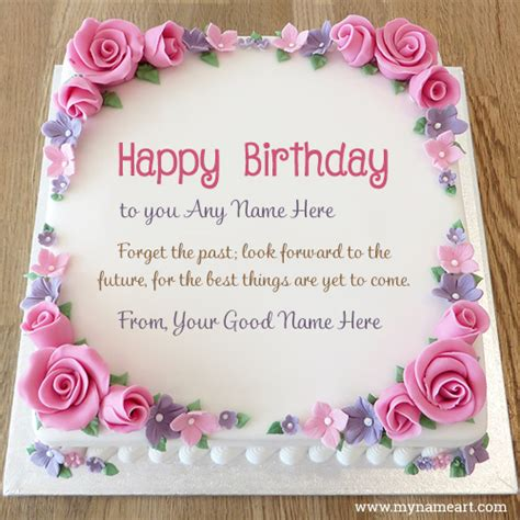 advance happy birthday wishes cake