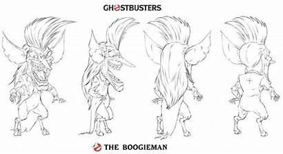 Ghostbusters Boogeyman Sheet Dan Schoening Board