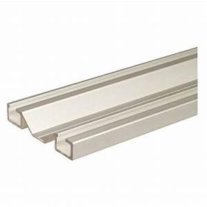 Rail De Placard : rail double bas pour porte coulissante pro line p100 seed ~ Premium-room.com Idées de Décoration