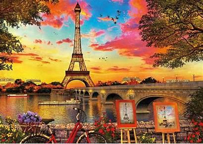 Paris Sunset Jigsaw Puzzle 3000 Pieces Educa