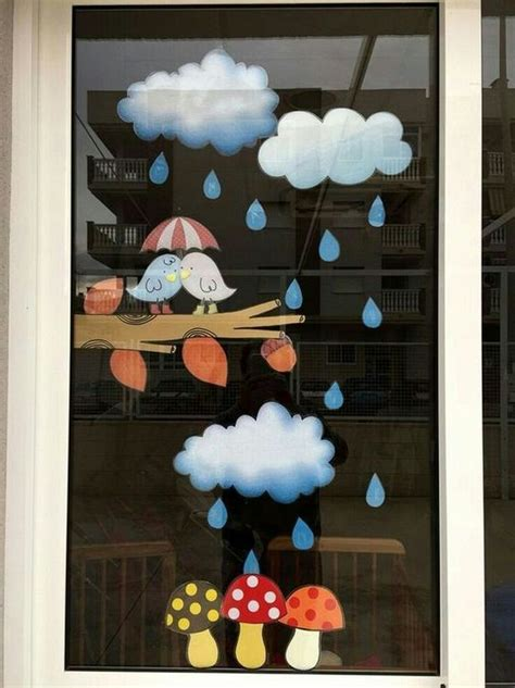 decorating ideas    window   rainy