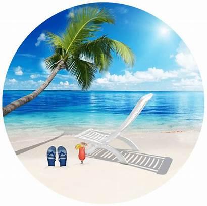 Beach Screen Door Tropical Theme Ocean Lock