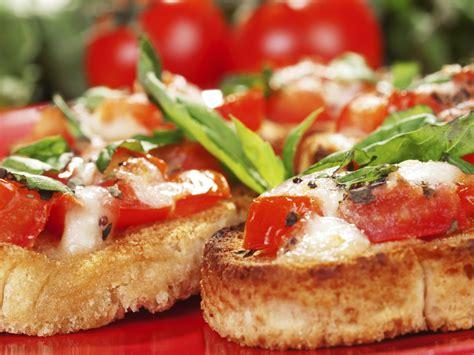 spécialité cuisine bruschetta tomate mozzarella recette gourmand