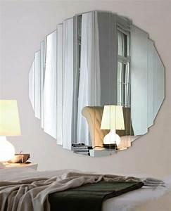 Grand Miroir Design : miroir salle manger espace quilibre nergie ~ Teatrodelosmanantiales.com Idées de Décoration