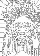 Bologna Mio Coloring Dal Salvato Libro sketch template