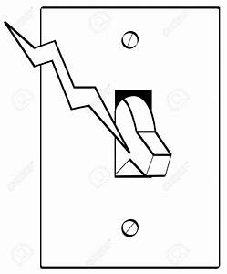 light switch electrical symbol sketch coloring page With electrical switches