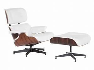 Eames Lounge Chair con Ottoman, Réplica de gran calidad