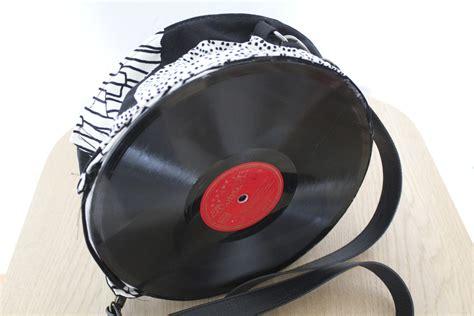 Tasche Aus Schallplatten by Schallplattentasche Handmade Kultur