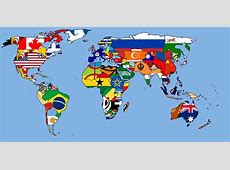 History Of Flags Of The World Map
