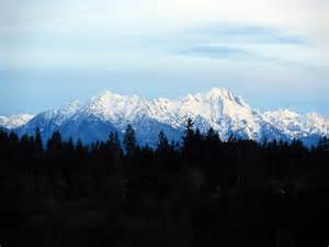 Olympic Mountain Range Names