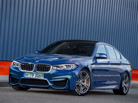 2018 Bmw M5 Rendering Shows Little Promise