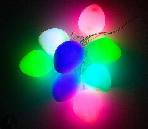 colorful usb easter egg led lights