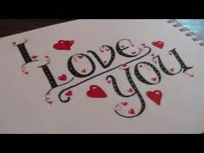 write cursive fancy letters how to write i love you