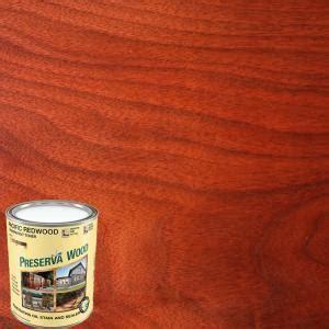 preserva wood  qt oil based pacific redwood penetrating