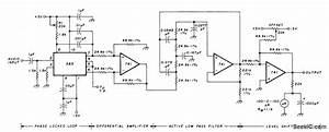Ekg Fm Demodulator - Basic Circuit