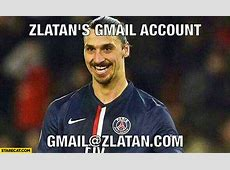 Zlatan's gmail account gmailzlatancom StareCatcom
