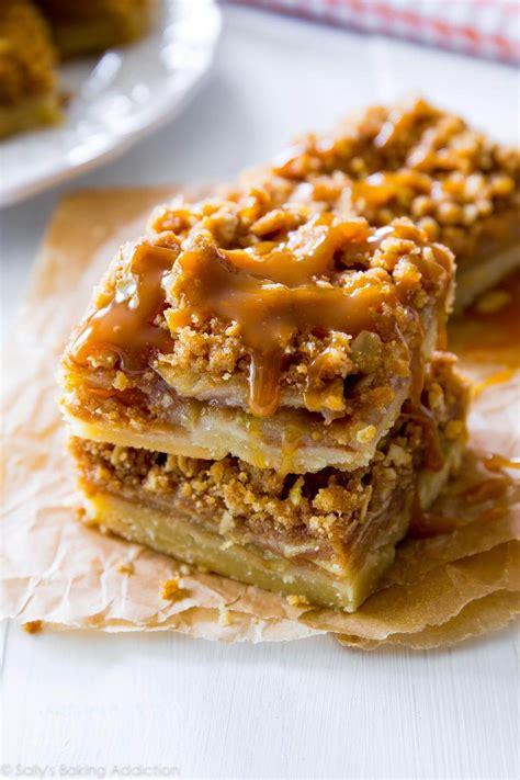 salted caramel apple pie sallys baking addiction