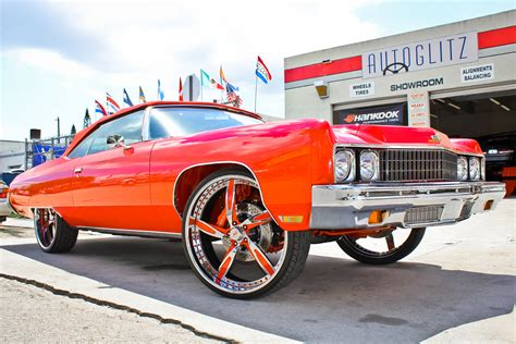 Cars With Big Rims :  Putting Huge Wheels On A Car