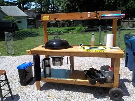 custom weber grill table google search custom grilling
