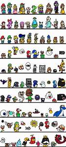 61 best Nintendo characters!!! images on Pinterest | Super ...
