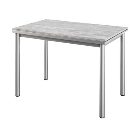 tables cuisine but table de cuisine en stratifié avec rallonges basic 4