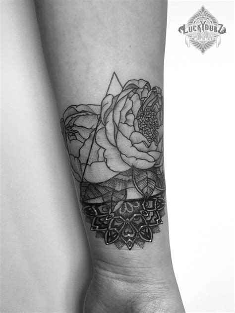 50+ Peony Tattoo Designs That Will Make Your Body a Blooming Garden - Tats 'n' Rings