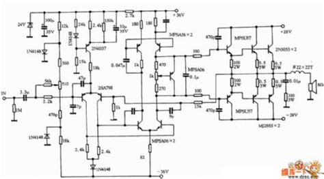 pioneer lifier schematic diagram circuit diagram