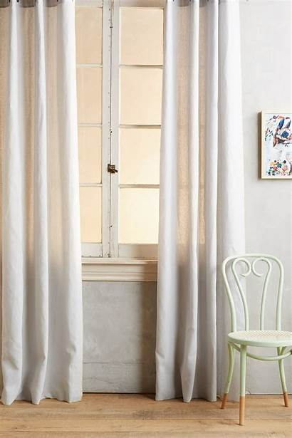 Curtains Anthropologie Grommet Curtain Living
