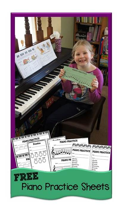 Piano Practice Sheets Lessons Chart Printables Printable
