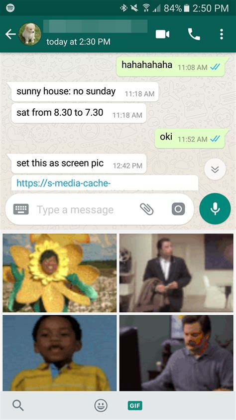 whatsapp adds gboard gif support