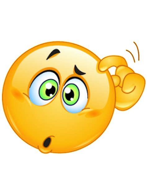 quot thinking emoji quot stickers by janetgonzalez redbubble