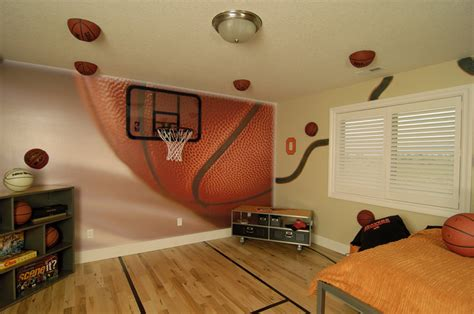 Basketball Bedroom Decor by Bedroom Ideas On Basketball Basketball