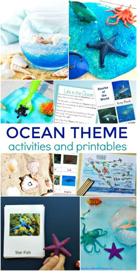 35 theme activities for preschool and kindergarten 810 | ocean theme activities 517x1024