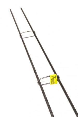 Utilisé pour le feraillage des chainages horizontaux (2). Barre épingle CH4x10 pour chainage longueur 6 m Cambrai
