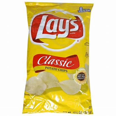 Chips Lays Chip Clipart Potato Classic Baked