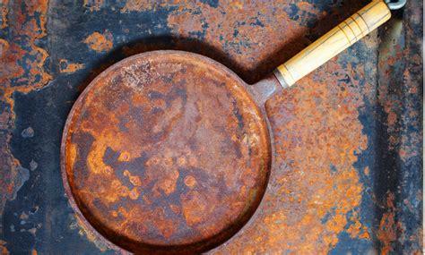 rust items household remove ways spud